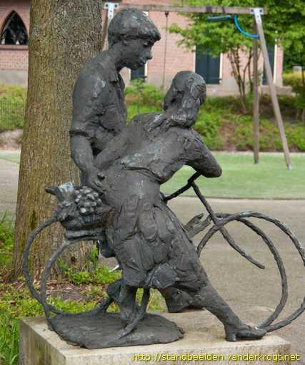 Afbeeldingsresultaat voor meisje op fiets