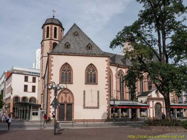 Frankfurt am main skulpturen an der liebfrauenkirche for Liebfrauenberg frankfurt
