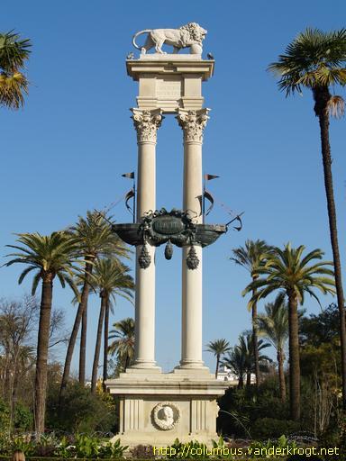 Sevilla - Monumento a ...