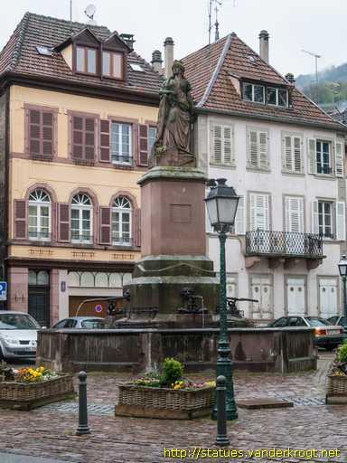 Ribeauvill la ville de ribeauvill du 19e si cle for Piscine de ribeauville