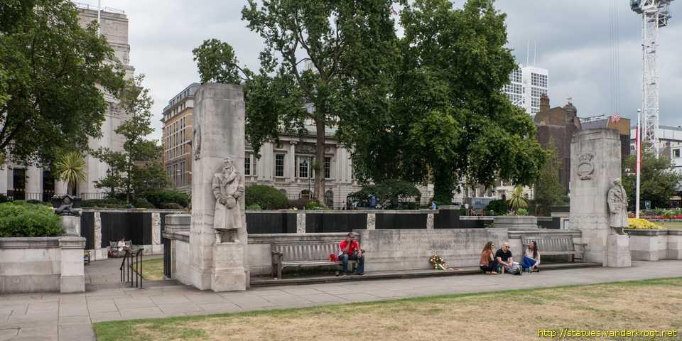 War Memorials in London London / Tower Hill Memorial