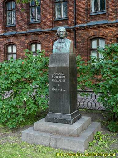 Johann Gottfried Herder riga